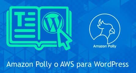 amazon polly aws wordpress