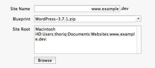 cómo configurar wordpress en desktopserver de serverpress