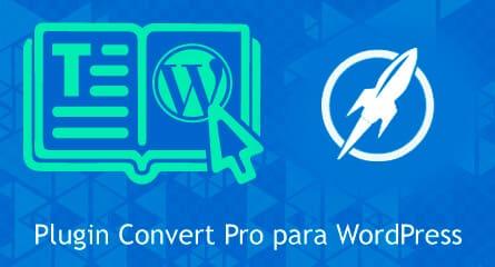convert pro plugin wordpress