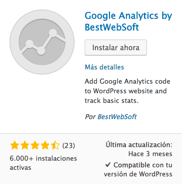 Google Analytics by BestWebSoft
