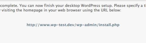 cómo instalar wordpress localmente con desktopserver de serverpress