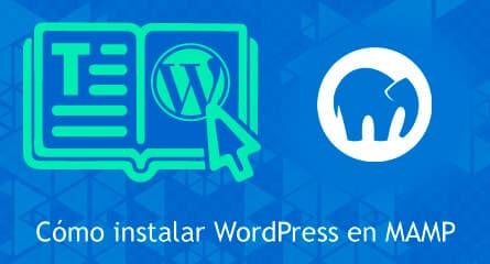 como instalar wordpress en mamp