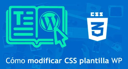 modificar css plantilla wordpress