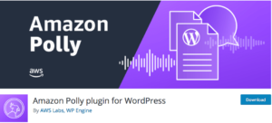 Plugin WordPress Amazon Polly