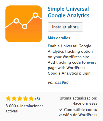 Simple Universal Google Analytics